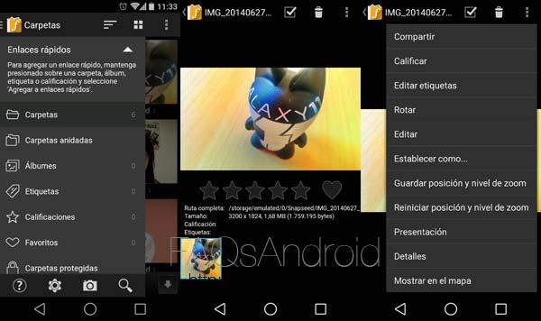 FStop, Las mejores alternativas a la galería de imágenes para Android L
