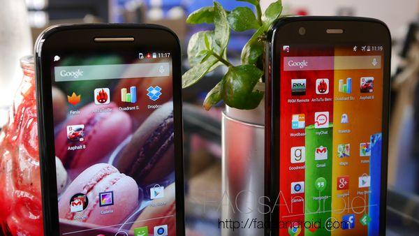 Motorola Moto G vs Moto E: comparativa en vídeo