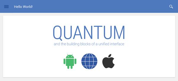 Quantum Paper, el diseño del futuro Android que reemplazará a Holo
