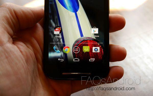 Móviles Android muy baratos: Motorola Moto E