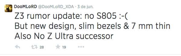 Un Sony Xperia Z3 más fino y con menos marco, ¿dónde hay que firmar?