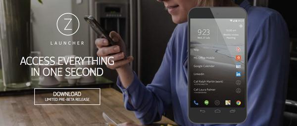 Z launcher: el launcher android creado por Nokia
