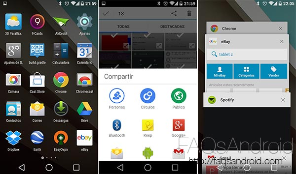 Los Nexus 4, 10 y 7 2012 y 2013 tendrán su actualización a Android L