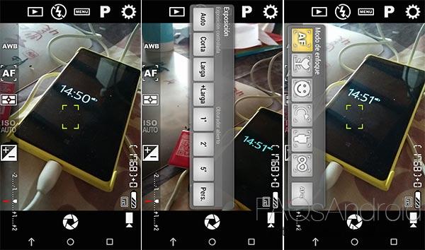Cinco alternativas a la aplicación de cámara de tu móvil: Camera FV-5