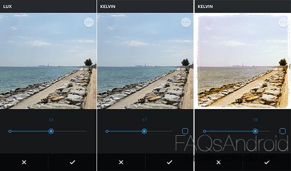 Más herramientas para tus fotos de gatitos en Instagram con ajuste en la edición de filtros