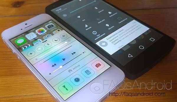 8 puntos en los que iOS 7 es superior a Android L