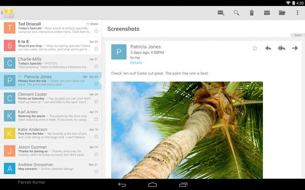 La app de mail de Google ya se puede descargar en Google Play Store