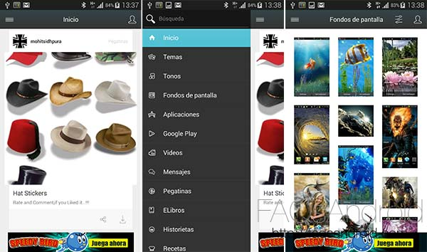 Mobile 9, la app con la que descargar tonos, wallpapers, temas, apps y mucho más