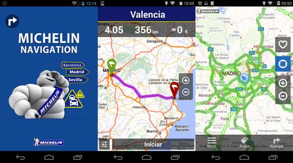 Via Michelín: Rutas, itinerarios y mapas de carretera