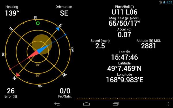 GPS Status & Toolbox: una aplicación para potenciar el GPS de tu móvil