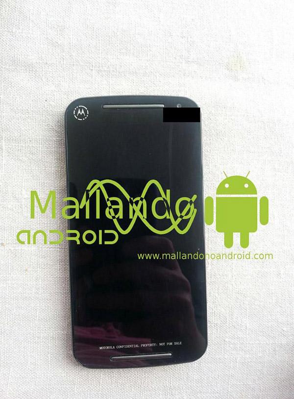 Imagen filtrada del ¿Moto G2? que podría ser el sucesor del Motorola Moto G