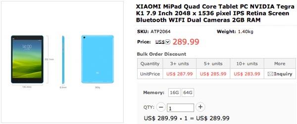 Las mejores webs para comprar el Xiaomi MiPad desde España
