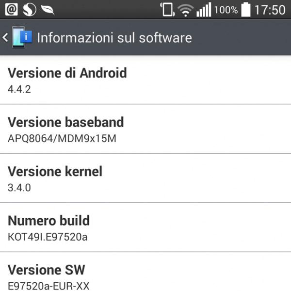 Actualización a Android 4.4.2 KitKat para los LG Optimus G libres