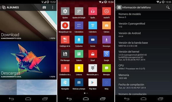 Cómo instalar la ROM CyanogenMod 11S del OnePlus One en el Nexus 5