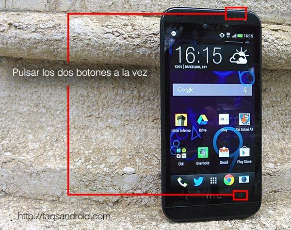 Cómo sacar una captura de la pantalla en Android por versiones y fabricantes