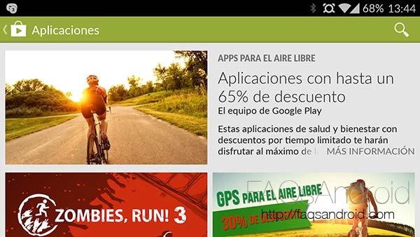 Nuevas promociones en la Google Play Store: descuentos en apps , juegos y compras in-app