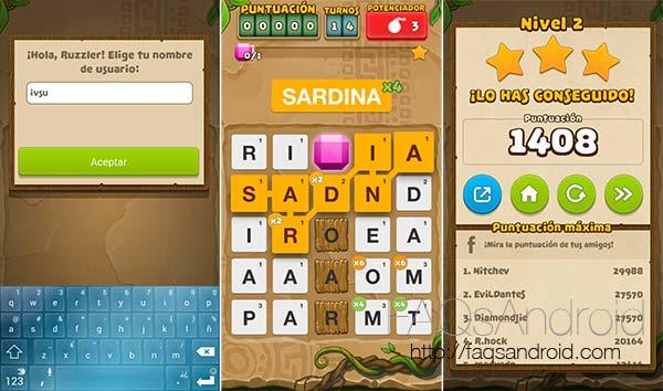 Ruzzle Adventure, el juego de palabras evoluciona en aventura