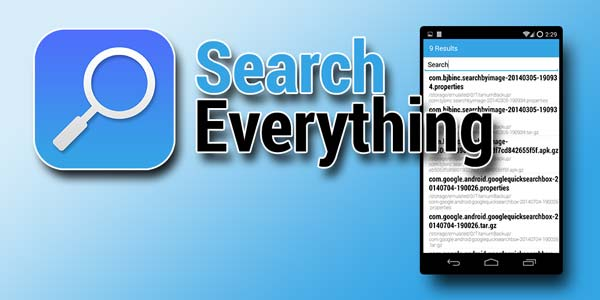 Search Everything, el buscador de archivos hipervitaminado