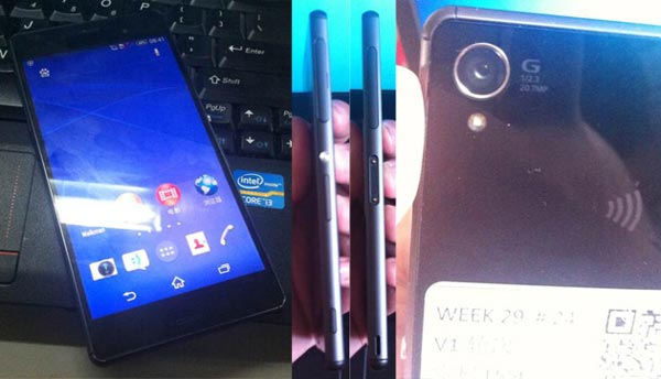 Nuevas fotografías y especificaciones filtradas del supuesto Sony Xperia Z3
