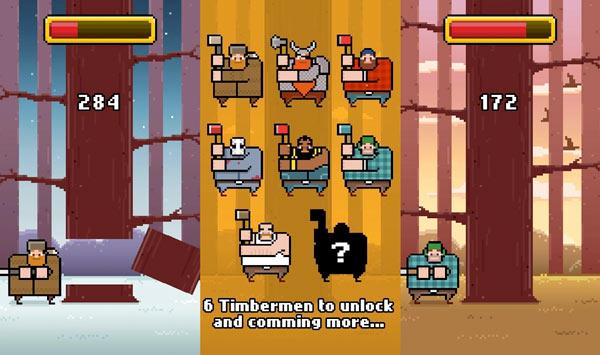 Timberman, el juego android sucesor de Flappy Bird