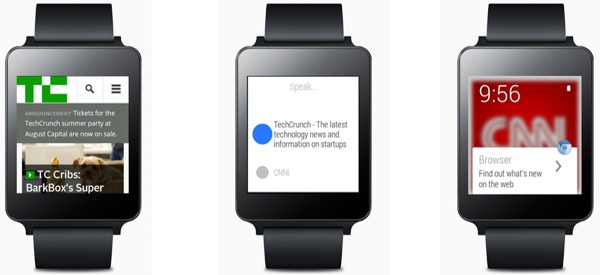 Ya es posible navegar por la web en Android Wear con Wear Internet Browser