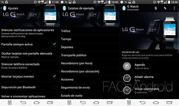 LG G Watch: análisis de un reloj con Android