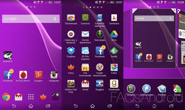 Comparativa entre el Sony Xperia Z2 y el LG G3 con vídeoreview HD