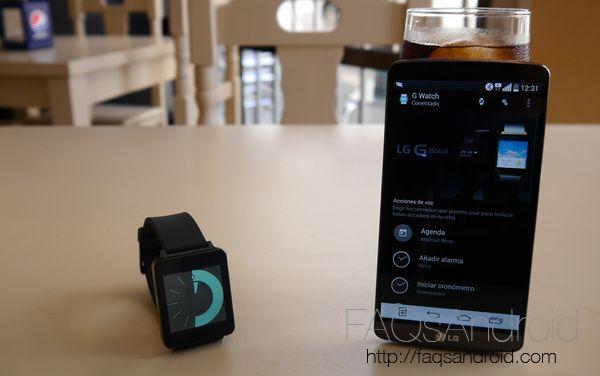 La app de Android Wear