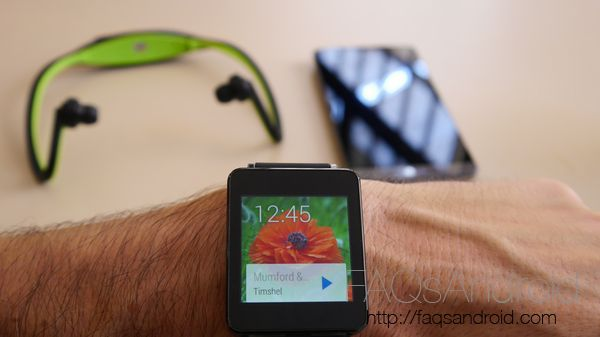 ¡Oferta! 100 euros de descuento en el LG G Watch hasta el 11 de diciembre