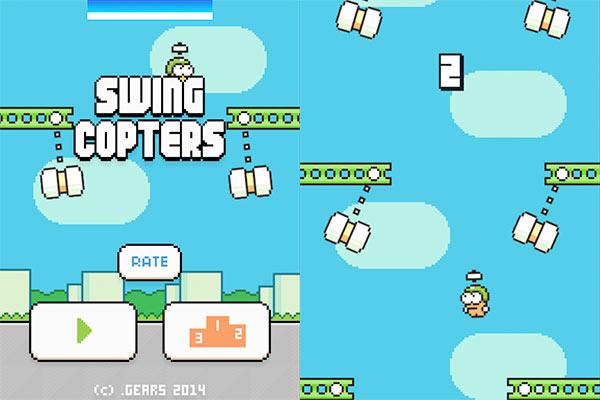 Ya podemos descargar el juego Swing Copters desde el Google Play Store