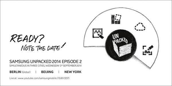 El Samsung Galaxy Note 4 se presentará el 3 de septiembre