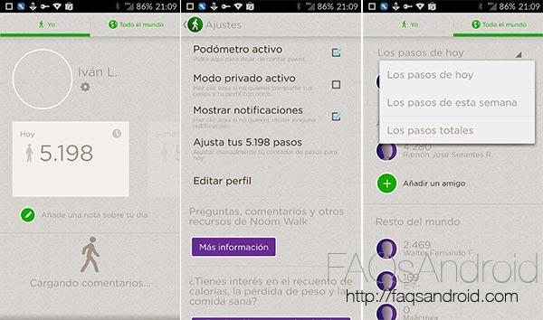 Tres aplicaciones Android que sustituyen un monitor de actividad Fitbit