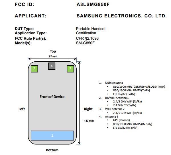El Samsung Galaxy Alpha pasa por la FCC antes de su presentación oficial