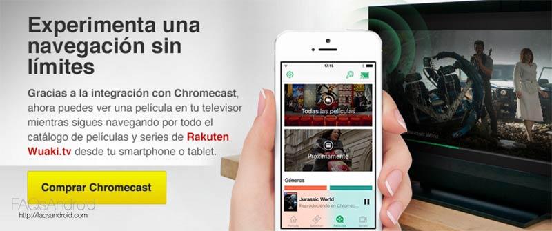 El Google Chromecast aún más barato con Wuaki.tv
