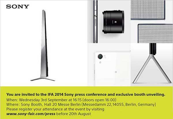 El Sony Xperia Z3 tiene fecha de presentación y también es el 3 de septiembre