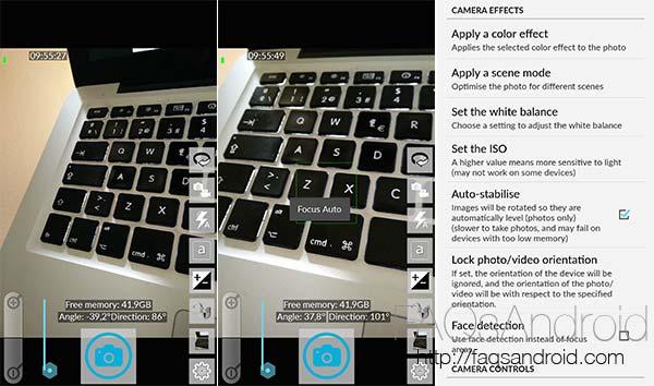Open Camera, una aplicación de cámara para Android Open Source y sin publicidad