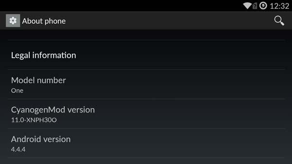 Actualización por OTA para el OnePlus One en circulación con toma de fotos mejorada