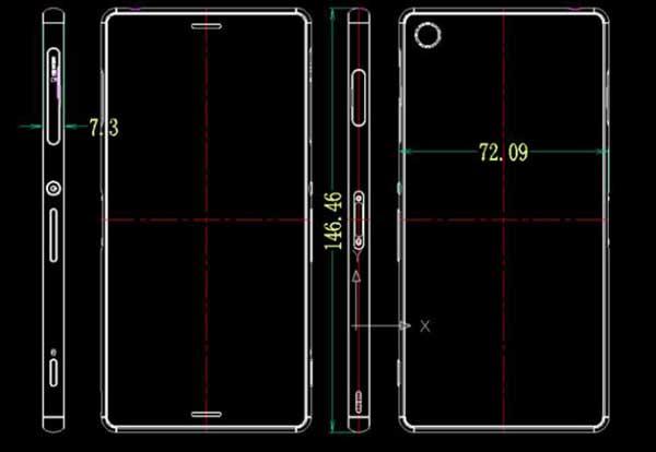 plano-sony-xperia-z3-Filtrados los planos y medidas del Sony Xperia Z3