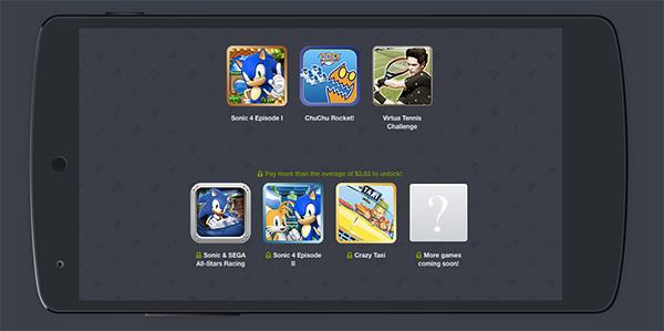 Tres grandes juegos para Android por el precio que quieras pagar