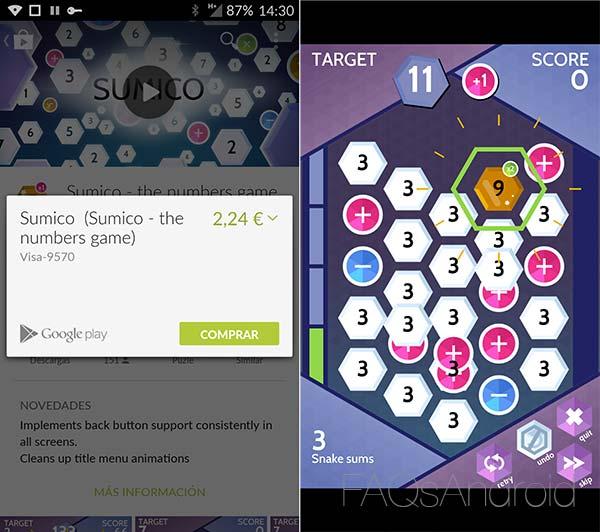 Sumico, un juego de puzzles matemático cargado de diversión