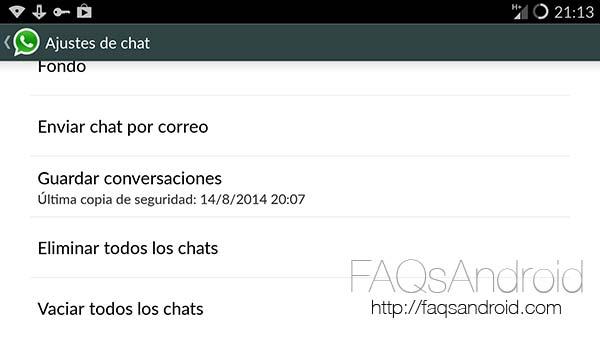 Copias de seguridad de WhatsApp: asegura las conversaciones y recupera chats borrados