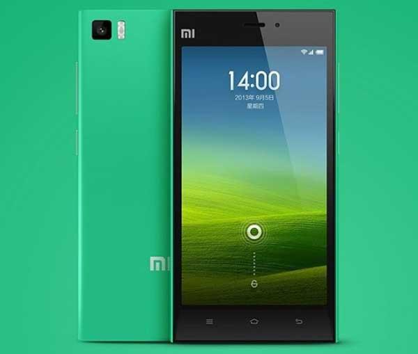 Nueva versión en color verde para el Xiaomi Mi3 de 16 GB