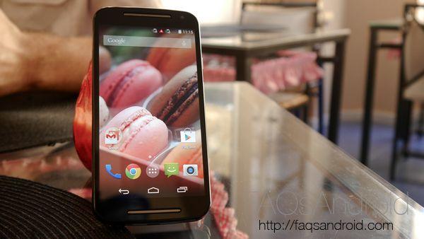 Los Motorola Moto G 2014 empiezan a recibir Android Lollipop 5.0.2