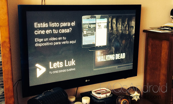 Lets Luk, una app android alternativa a Series.ly para Chromecast