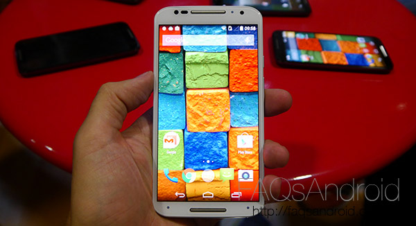Precios Nuevo Motorola Moto X 2014 en Yoigo