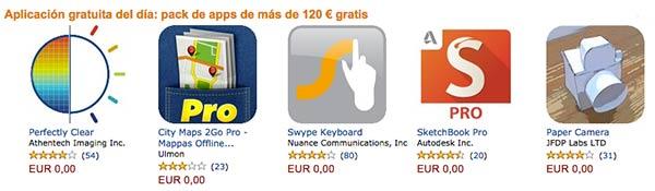 Apps y juegos gratis a mansalva: Amazon regala 120 euros en su tienda