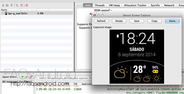 Cómo hacer capturas de pantalla en un smartwatch con Android Wear