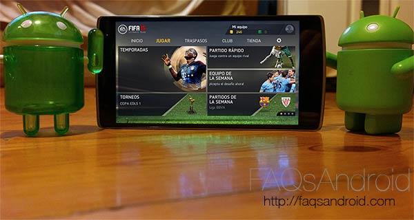 Atención futboleros: FIFA 15 Ultimate Team ya en la Google Play Store. ¡Y gratis!