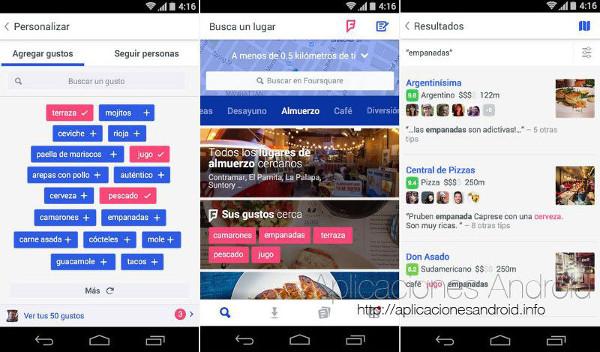 Foursquare para Android actualiza su diseño y se divide en dos aplicaciones