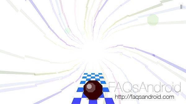 Octagon, un juego de estilo runner con una bola como protagonista